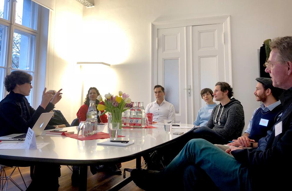 Common Purpose zu Besuch bei Uli Mayer-Johanssen
