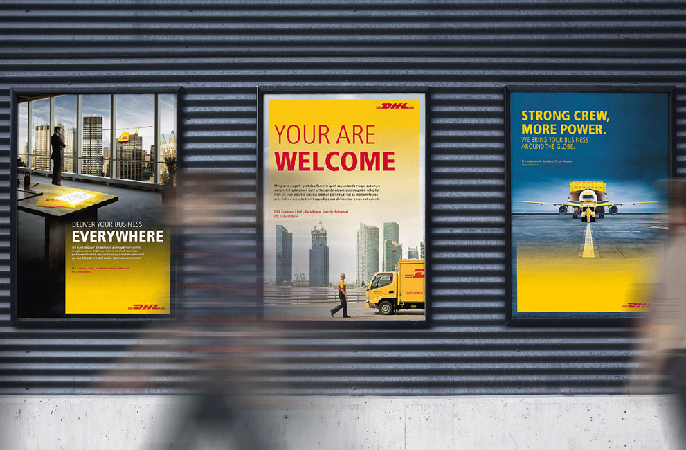 DHL – Corporate Design Refresh