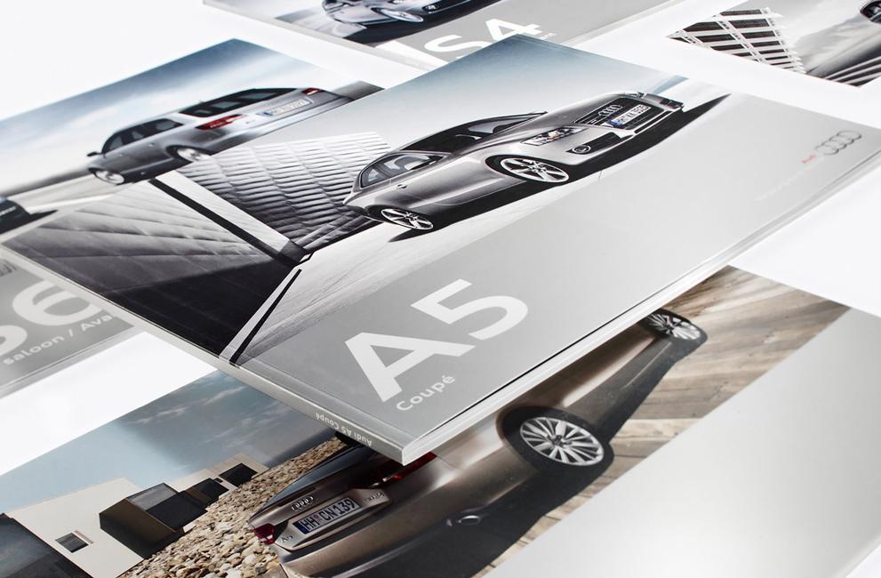 Erscheinungsbild von Audi