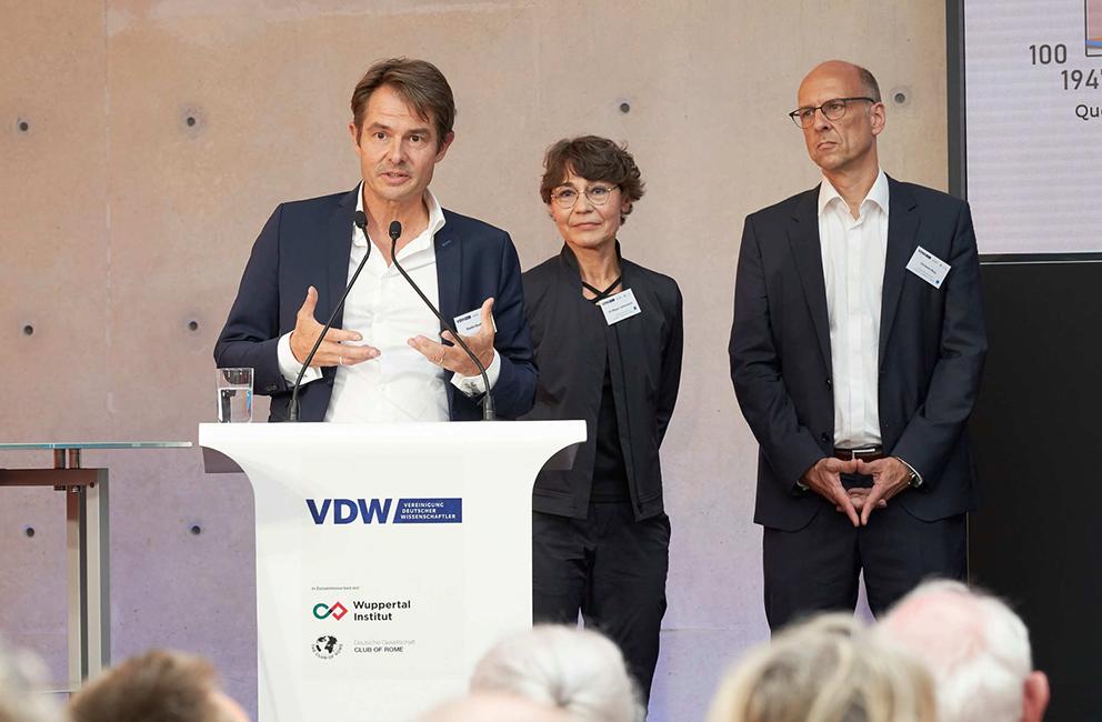 Symposium anlässlich des 80. Geburtstags von Ernst Ulrich von Weizsäcker