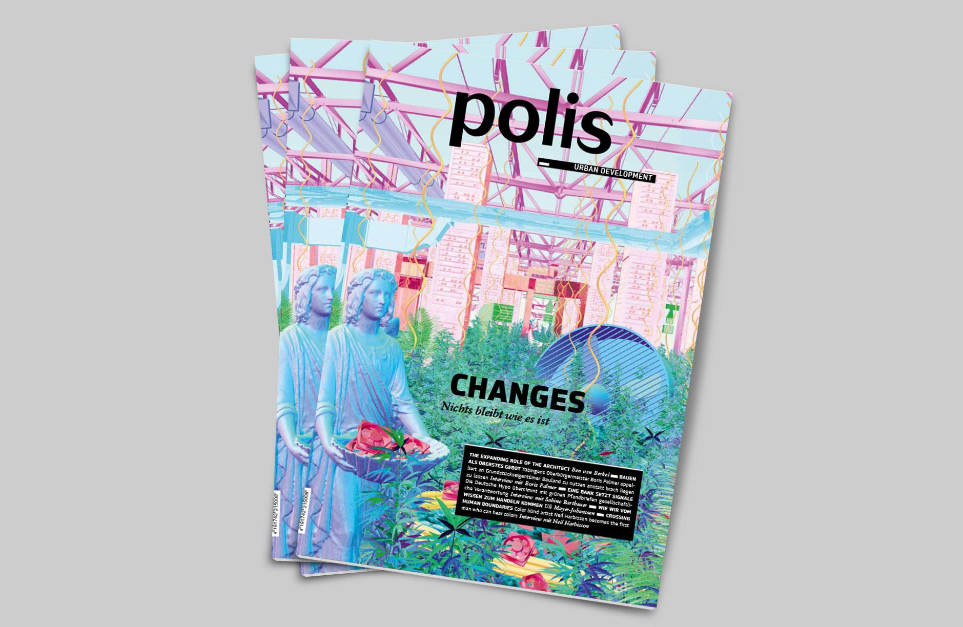 """Polis Magazinausgabe """"CHANGES"""" mit Beitrag von Uli Mayer-Johanssen"""