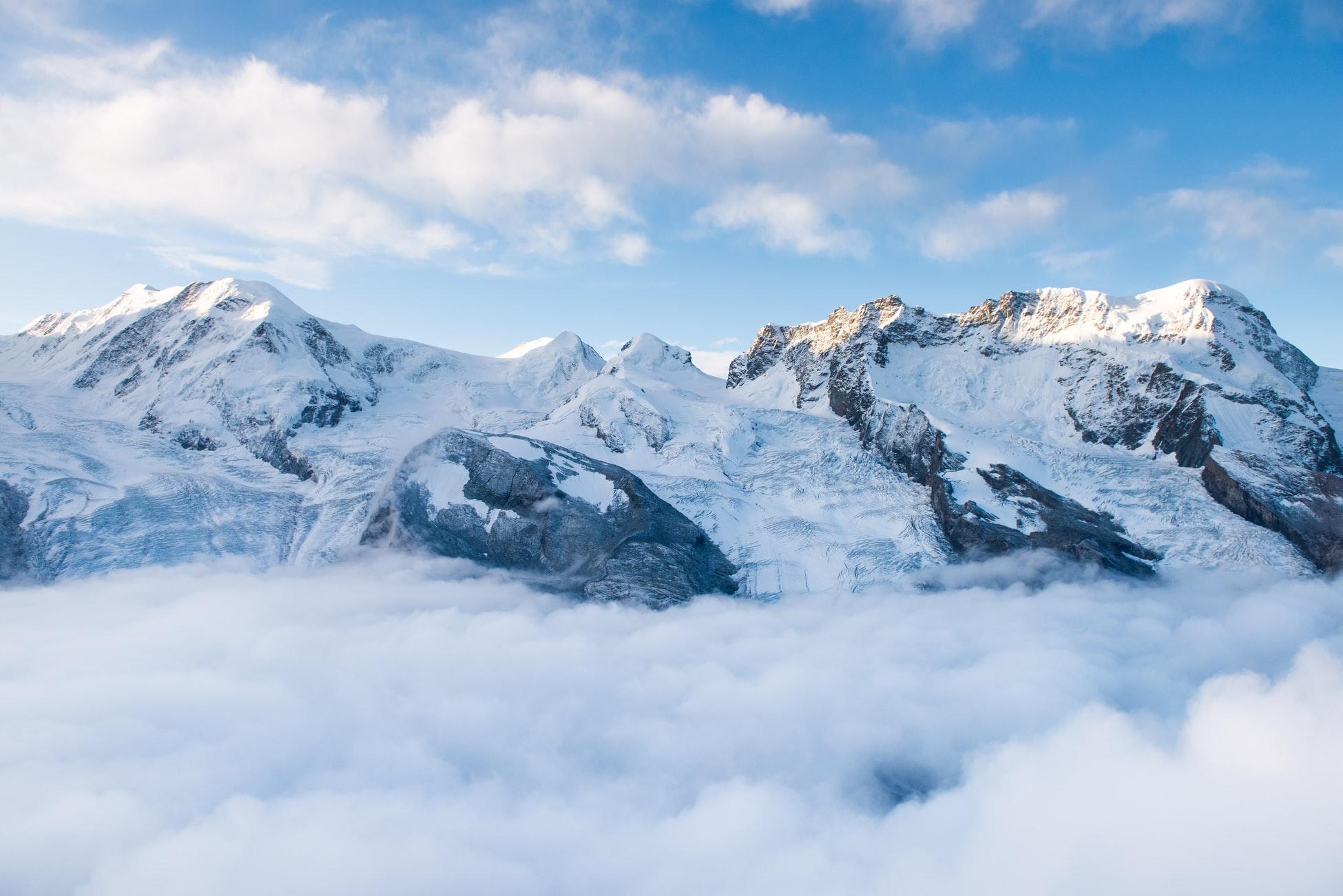 Gifte auf den Gipfeln