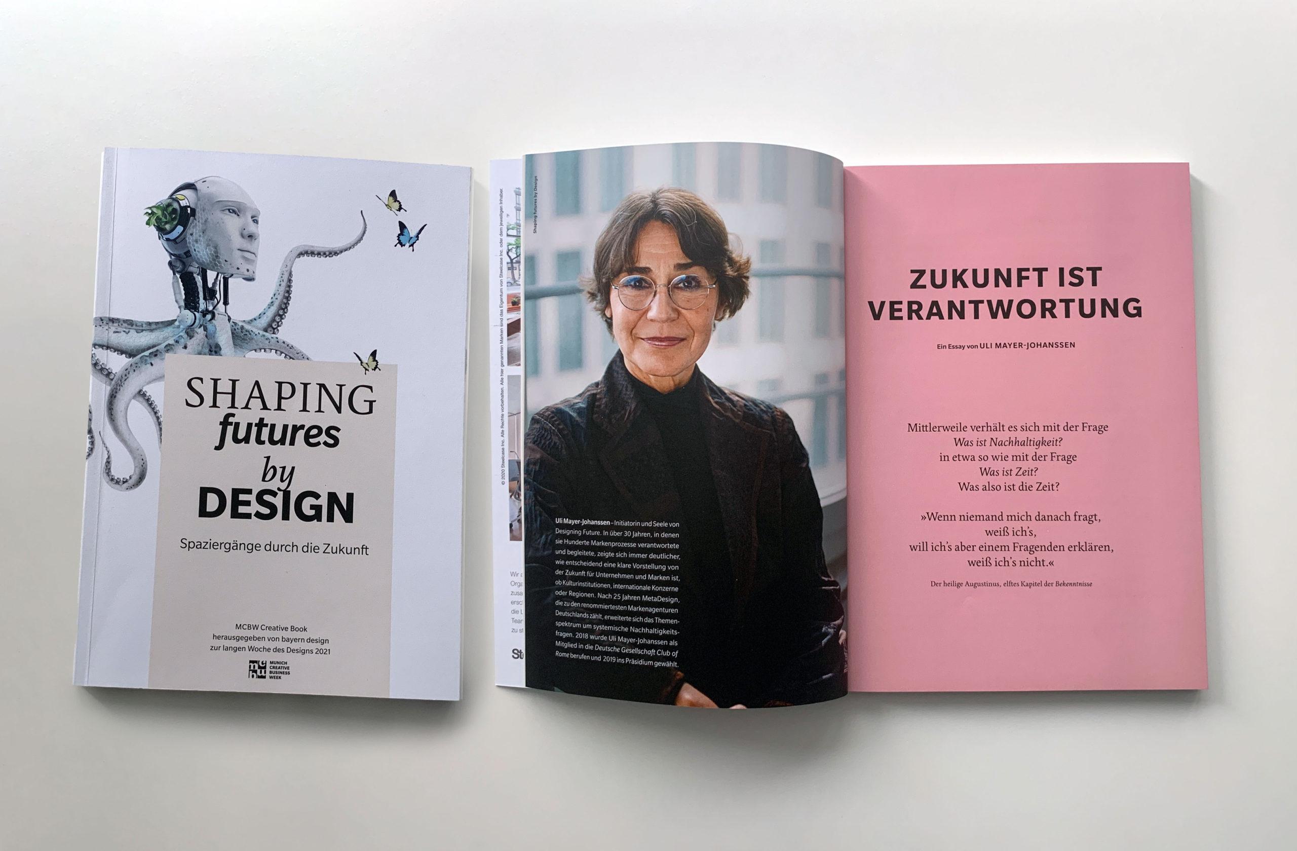 Essay für Shaping futures by Design
